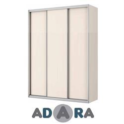 ארון הזזה שלוש דלתות ברוחב 1.8 מטר MDF עם מסגרת אלומיניום