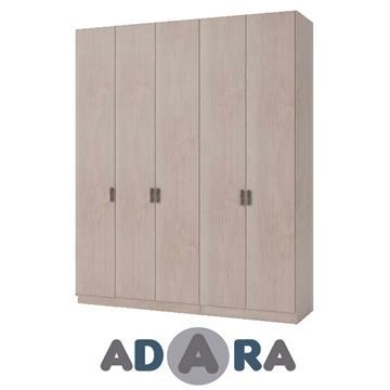 ארון בגדים 5 דלתות עשוי MDF