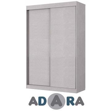 ארון הזזה שתי דלתות ברוחב 1.6 מטר MDF
